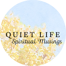 Quiet Life: Spiritual Musings | Sweet is the Light