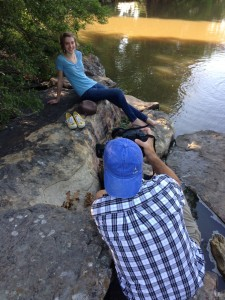 Nice having a family full of photographers. This is my dad taking Birdie's senior pictures...they turned out great!