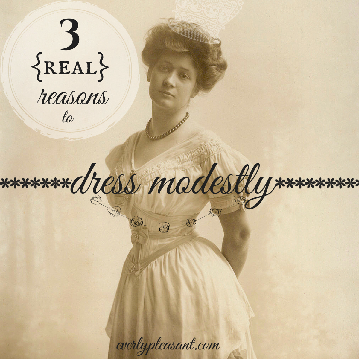 3 real reasons to dress modestly