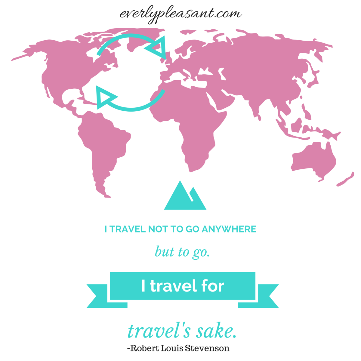 travel for travel's sake